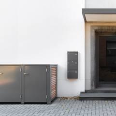 Mülltonnenbox:  Mehrfamilienhaus von Siebau Raumsysteme GmbH & Co KG
