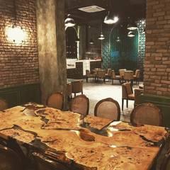 Restaurantes de estilo  por DESTONE YAPI MALZEMELERİ SAN. TİC. LTD. ŞTİ.