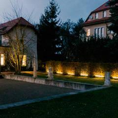 Haus der Architekten | Beleuchtung 3:  Garten von Ruairí O'Brien. LICHTDESIGN.
