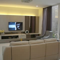 Living room by Exxo interior
