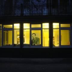 Erich Kästner Museum | Beleuchtung Außen:  Fenster von Ruairí O'Brien. LICHTDESIGN.