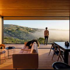 CASAS ESTRUCTURA DE FIERRO: Comedores de estilo  por Casas Green Planet