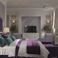 :  Bedroom by Comelite Architecture, Structure and Interior Design