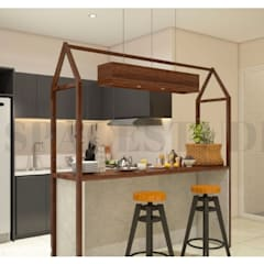 Built-in kitchens by Inspace Studio