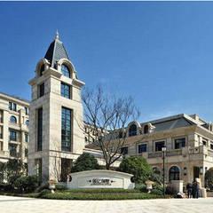 Progetto della residenza Yinyi Yilingshu  of Shanghai: Villa in stile  di Eurooo