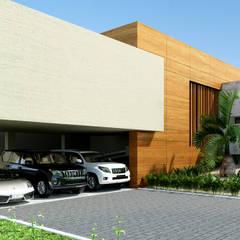 排屋 by Taller 3M Arquitectura & Construcción