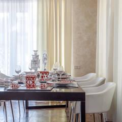 Дизайн загородного дома в Краснодаре: Столовые комнаты в . Автор – Студия дизайна Светланы Исаевой