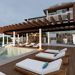 Infinity pool by DISARQ ARQUITECTOS