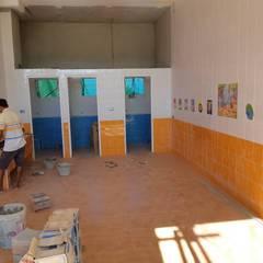 โรงเรียนรับเลี้ยงเด็กอ่อน-คริสตจักรสวนดอกไม้:  โรงเรียน โดย โอเบ เอ็นจิเนียริ่ง จำกัด, ผสมผสาน