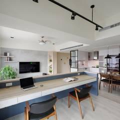 مكتب عمل أو دراسة تنفيذ 微自然室內裝修設計有限公司