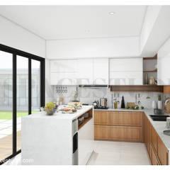 SL 09 House Dapur Modern Oleh Inspace Studio Modern