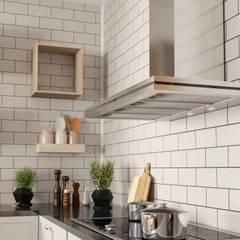Klasyczna kuchnia z okapem energooszczędnym: styl , w kategorii Kuchnia zaprojektowany przez GLOBALO MAX