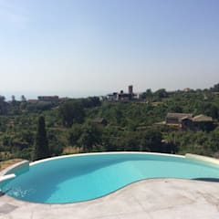 Infinity pool by SICILY POOL SRL