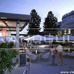 Летняя площадка шикарного ресторана в Ялте: Ресторации в . Автор – Frandgulo