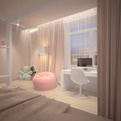 Girls Bedroom by Dmitriy Khanin
