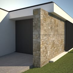 منزل عائلي صغير تنفيذ Atelier 72 - Arquitetura, Lda