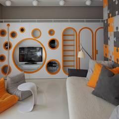 Кутузовская Ривьера I: Детские комнаты в . Автор – Geometrix Design