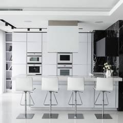 Кутузовская Ривьера II: Столовые комнаты в . Автор – Geometrix Design