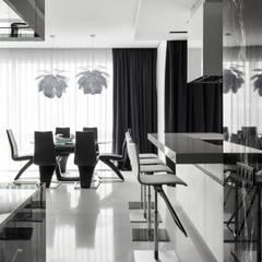 Кутузовская Ривьера II: Кухни в . Автор – Geometrix Design