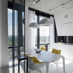 Мосфильмовская: Столовые комнаты в . Автор – Geometrix Design