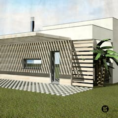 Small houses by ATELIER OPEN ® - Arquitetura e Engenharia