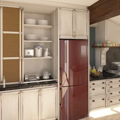 Small-kitchens by Sherwood Furniture&Project&Design&Office