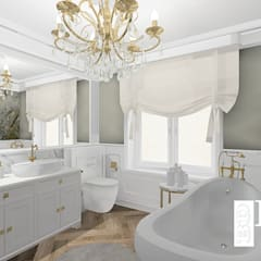 Luxury bathroom:  Bathroom by BAYO  Design