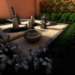 禪風庭院 by David Araiza Pérez DAP Diseño,  Arquitectura  y Paisaje