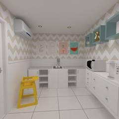 غرف الرضع تنفيذ Oria Arquitetura & Construções