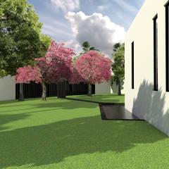 Estanques de jardín de estilo  por Arqternativa