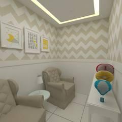 ห้องเด็กอ่อน by Oria Arquitetura & Construções