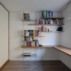 Study/office by Estúdio GT Arquitetura, Minimalist