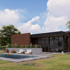 Country house by Quiroz / Diaz arquitectos