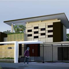 rumah tinggal cigadung selatan I/17:  Rumah by daun architect