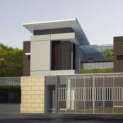 rumah di pasir jaya:  Rumah by daun architect