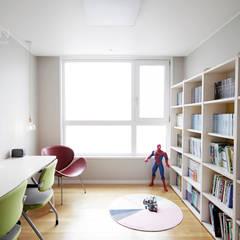 센텀파크 1차 50평 인테리어: 로하디자인의  아이방,미니멀
