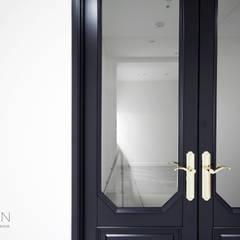 센텀파크 1차 50평 인테리어: 로하디자인의  문