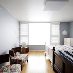 센텀파크 1차 50평 인테리어: 로하디자인의  방