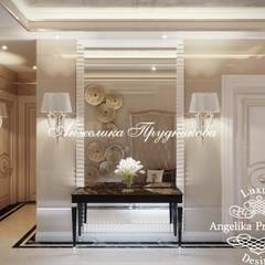 Дизайн дома в стиле арт-деко в КП «Миллениум Парк»: Коридор и прихожая в . Автор – Дизайн-студия элитных интерьеров Анжелики Прудниковой