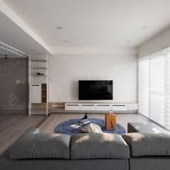 Living room by 極簡室內設計 Simple Design Studio,