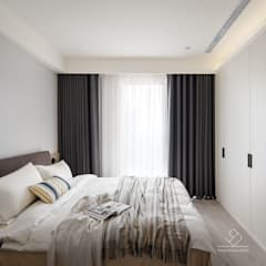 Cuartos de estilo  por 極簡室內設計 Simple Design Studio, Escandinavo