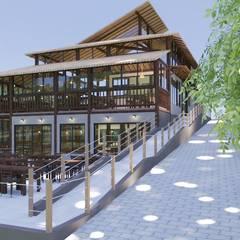 سقف متعدد الميول تنفيذ Daniela Ponsoni Arquitetura