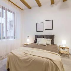 Dormitorio después: Dormitorios de estilo  de Impuls Home Staging