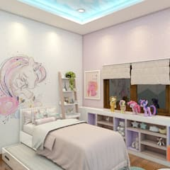 Teen bedroom by Lavrenti Smart Interior, Asian