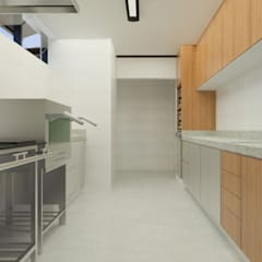 Kitchen units by Daniela Ponsoni Arquitetura