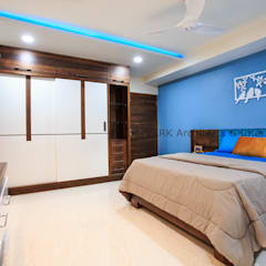 Small bedroom by ARK Architects & Interior Designers
