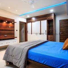 Projekty,  Małe sypialnie zaprojektowane przez ARK Architects & Interior Designers
