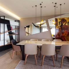 Pebbledesign / Çakıltașları Mimarlık Tasarım – Şekeroğlu Residential:  tarz Yemek Odası