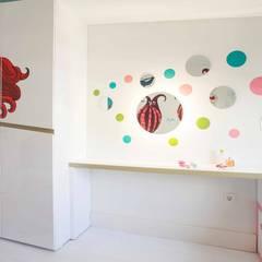 Pebbledesign / Çakıltașları Mimarlık Tasarım – Şekeroğlu Residential:  tarz Kız çocuk yatak odası
