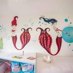 Girls Bedroom by Pebbledesign / Çakıltașları Mimarlık Tasarım